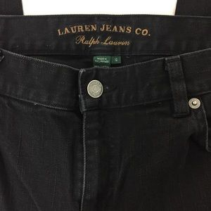 Lauren Jeans Co. Black Ralph Lauren Jeans